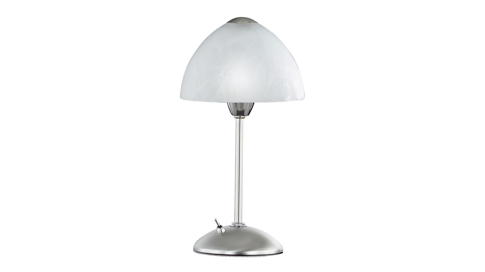 Tischleuchte Amsterdam Bzw Tischlampe Nickel Matt