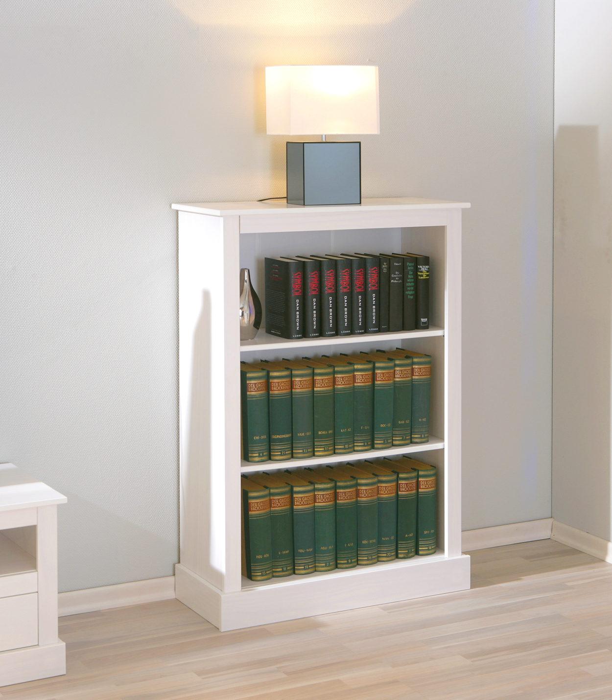 Regal Provence, ein attraktives Wohnzimmermöbel oder Büromöbel, weiß ...