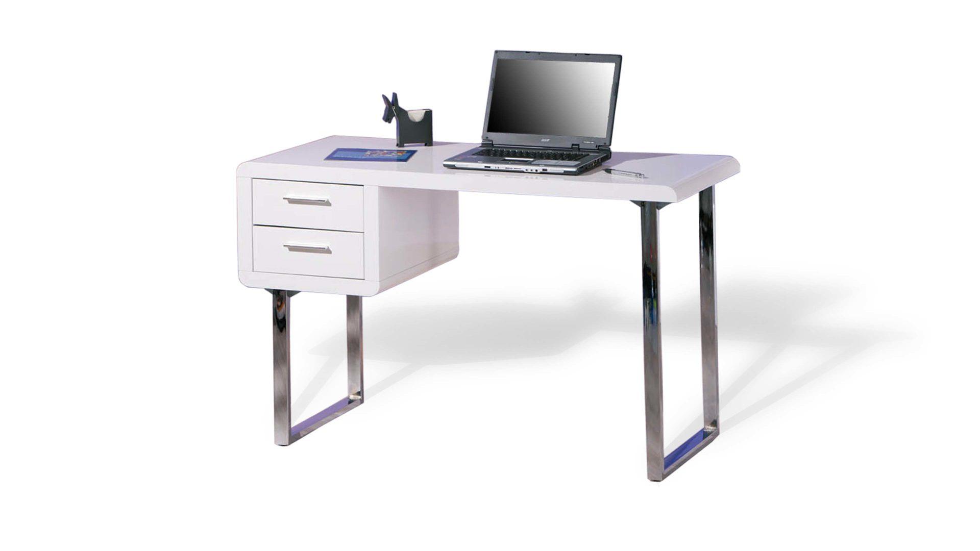 Schreibtisch Claude, ein Büromöbel für effizientes Arbeiten, weiße ...