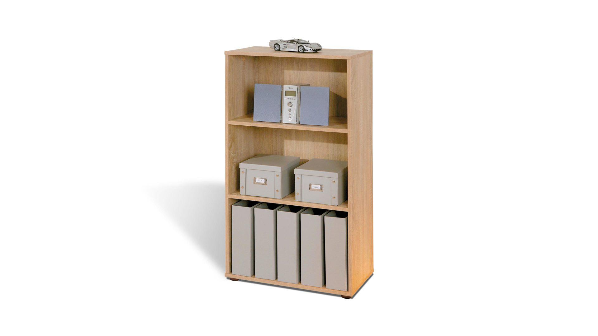 Regal Parini als Büromöbel oder Wohnzimmermöbel einsetzbar, Sonoma ...