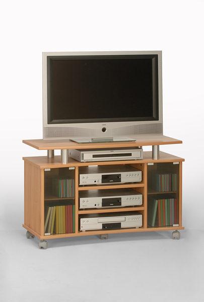 Tv Medienwagen Als Tv Tisch Bzw Tv Möbel Kernbuchefarbene