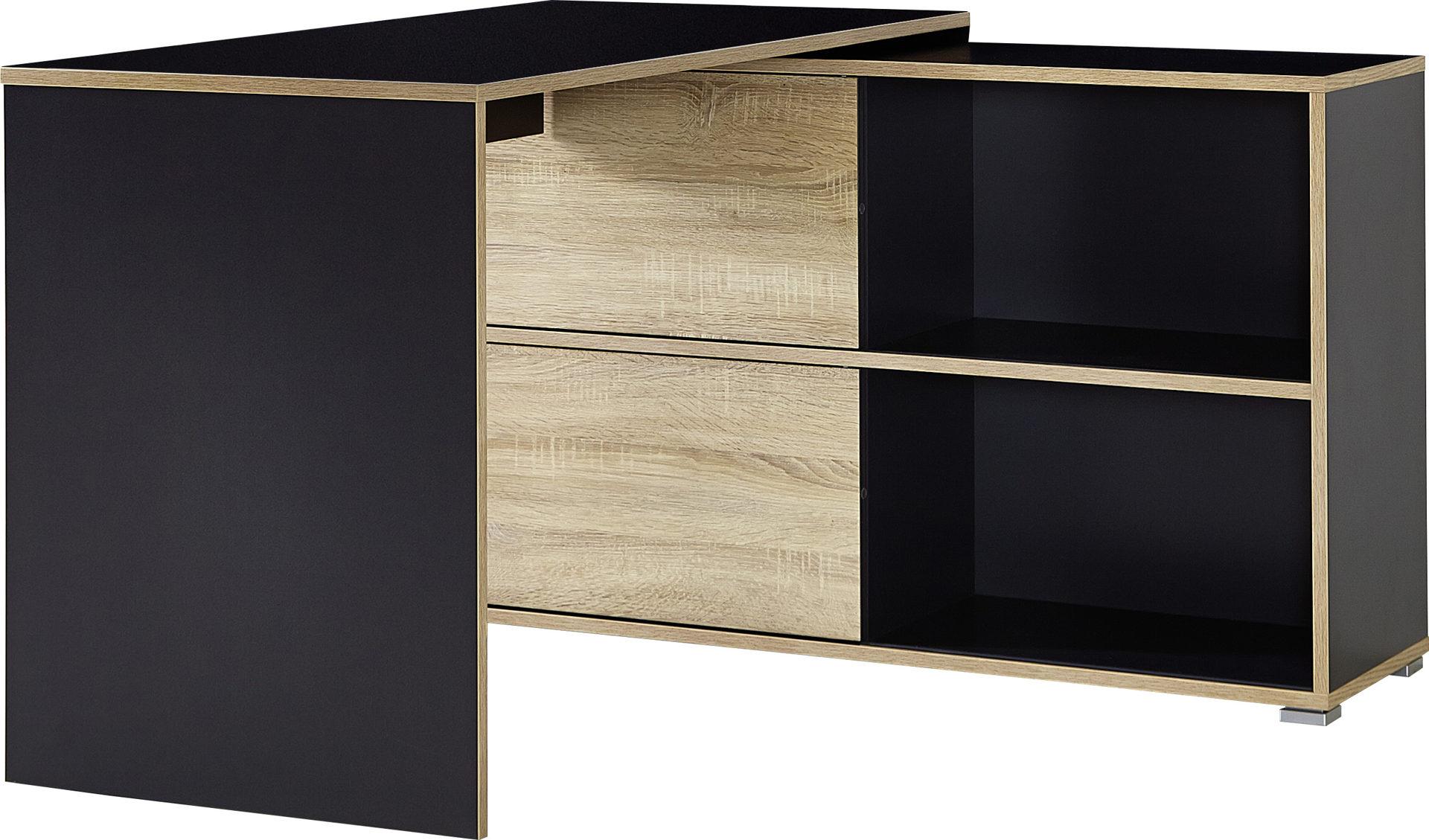 Schreibtisch-Kombination Slide bzw. Büromöbel , anthrazitfarbene ...
