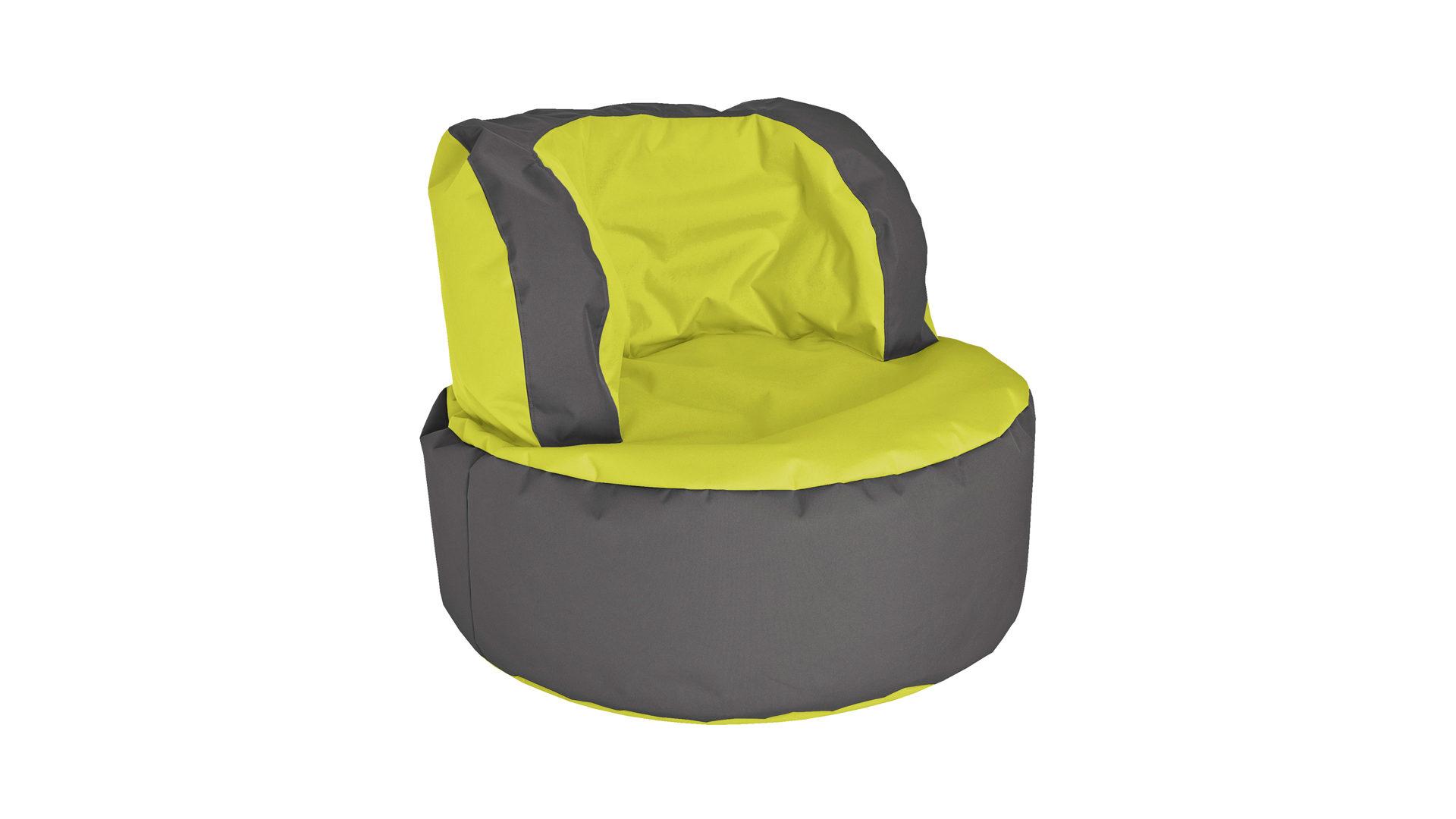 Sitting Point Sitzsack Sessel Bebop Scuba Als Sitzmöbel Limonen