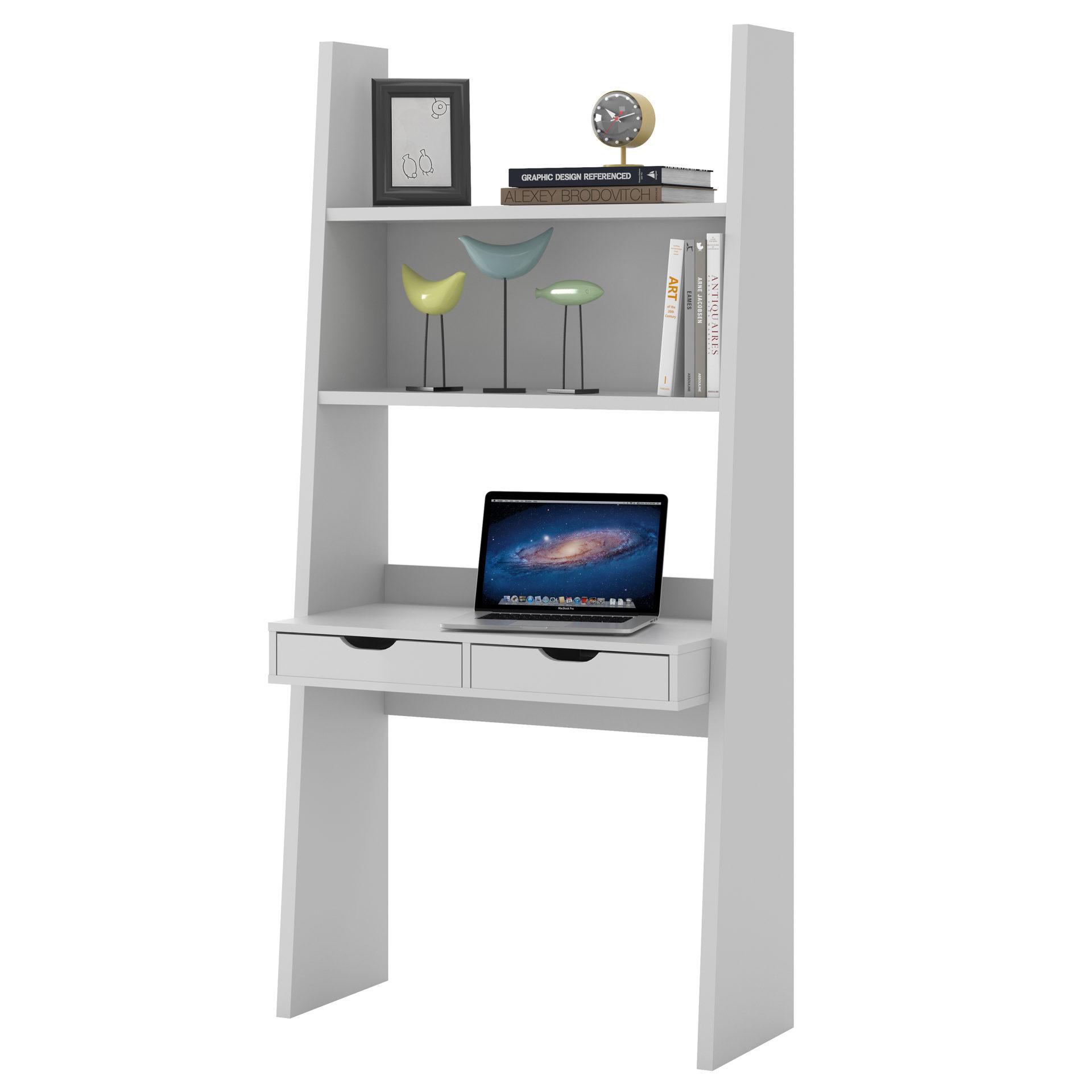 Regal mit Schreibplatte als Wohnzimmermöbel oder Büromöbel ...