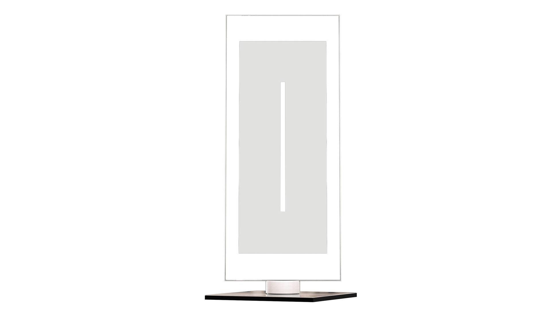 ... Lampen + Leuchten | EVOTEC LED Tischleuchte | Günstiger, In  Metallfarben, Aus Glas Metall, Evotec, Aluminium U0026 Nickel Gebürstet, Weißes  Glas   Ca.